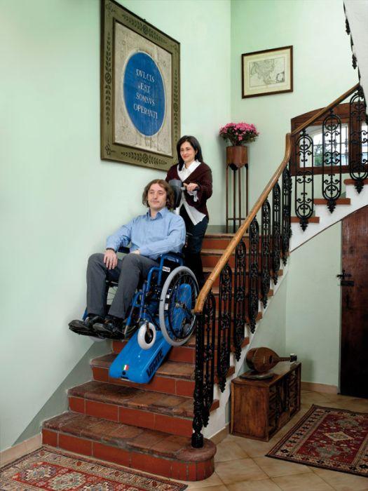 Oruga salvaescaleras roby t09 imcalift salvaescaleras for Escalera discapacitados